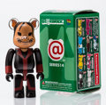 Fine Art - Sculpture, American:Contemporary (1950 to present), BE@RBRICK. Series 14- Horror 100%, 2004. Painted cast resin.2-3/4 x 1-1/4 x 0-1/2 inches (7.0 x 3.2 x 1.3 cm). Stamped ...