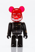 Fine Art - Sculpture, American:Contemporary (1950 to present), BE@RBRICK X Pepsi NEX. Black and Red 70%, 2010. Painted castresin. 2 x 1 x 0-1/2 inches (5.1 x 2.5 x 1.3 cm). Stamped o...