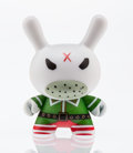 Fine Art - Sculpture, American:Contemporary (1950 to present), kidrobot X Frank Kozik. Elf Dunny, 2015. Painted cast vinyl. 2-3/4 x 1-1/2 x 1 inches (7.0 x 3.8 x 2.5 cm). Stamped on t...