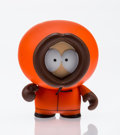 Fine Art - Sculpture, American:Contemporary (1950 to present), kidrobot X South park. Kenny, 2011. Painted cast vinyl. 2 x1-1/2 x 1 inches (5.1 x 3.8 x 2.5 cm). Stamped to the unders...