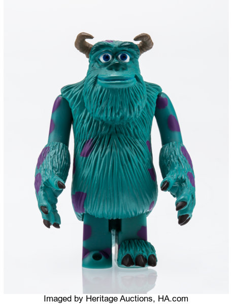 disney sully from monster s inc painted cast resin 2 3 4 x