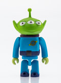 Fine Art - Sculpture, American:Contemporary (1950 to present), Disney. Alien, from Toy Story. Painted cast resin. 2-3/4 x 1-3/4 x 1 inches (7.0 x 4.4 x 2.5 cm). Stamped on the rev...