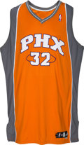 Basketball Collectibles:Uniforms, 2008-09 Shaquille O'Neal Game Worn Phoenix Suns Jersey with Letterof Provenance from Equipment Manager.. ...