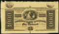 Obsoletes By State:Louisiana, New Orleans, LA- Citizens' Bank of Louisiana $1000 18__. ...