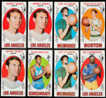 Basketball Cards:Lots, 1969 Topps Basketball Collection (82)....
