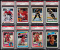 Hockey Cards:Lots, 1984-90 Hockey PSA Graded Rookie Collection (8)....