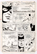 Original Comic Art:Panel Pages, Rick Hoberg and Bill Collins All-Star Squadron #34 Partial Story Original Art Group of 7 (DC, 1984).... (Total: 7 Original Art)