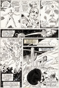 Original Comic Art:Panel Pages, Gil Kane and Dan Adkins Marvel Premiere #1 Story Page 27Adam Warlock Original Art (Marvel, 1972)....