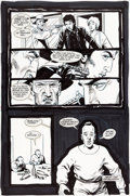 Original Comic Art:Panel Pages, Steve Dillon Preacher #3 Story Page 24 Original Art(DC/Vertigo, 1993)....