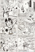 Original Comic Art:Panel Pages, George Tuska Avengers #48 Page 18 Original Art (Marvel, 1968)....