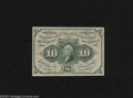 Fractional Currency:First Issue, Fr. 1242 10c First Issue About New. Gem margins are duly notes on this crisp and attractive first issue type note....