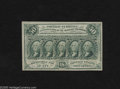 Fractional Currency:First Issue, Fr. 1312 50c First Issue Choice New with Cutting Guidelines. This is a very interesting piece of fractional that has the loo...