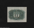 Fractional Currency:Second Issue, Fr. 1244SP Medium Margin Reverse 10c Second Issue Gem New. This is a well margined example of this second issue specimen typ...