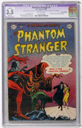 Golden Age (1938-1955):Horror, The Phantom Stranger #1 (DC, 1952) CGC Apparent VG- 3.5 Slight (A)Off-white pages....
