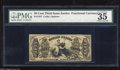 Fractional Currency:Third Issue, Fr. 1357 50c Third Issue Justice PMG Choice Very Fine 35. This Colby-Spinner autographed note is scarce in any grade with th...