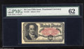 Fractional Currency:Fifth Issue, Fr. 1381 50c Fifth Issue PMG Uncirculated 62. Ornamentation fromthe note below peeks over the bottom edge on this nicely pr...