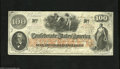 Confederate Notes:1862 Issues, T41 $100 1862. This Scroll 2 variety is dated Jan. 6, 1863; twodays before this issue was discontinued. Extremely Fine....