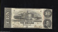 Confederate Notes:1863 Issues, T59 $10 1863. This 2nd Series Very Fine $10 is crisp with a few pinholes....