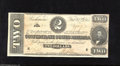 Confederate Notes:1864 Issues, T70 $2 1864. Just a hint of handling is found on this Deuce signed by (Mrs.) S(arah) Pelot who was the inspiration for The...