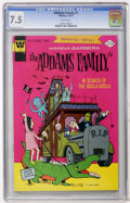 Bronze Age (1970-1979):Cartoon Character, Addams Family #1 (Whitman, 1974) CGC VF- 7.5 White pages....