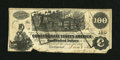 Confederate Notes:1862 Issues, CT39/290A $100 1862.. ...