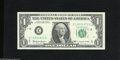 Error Notes:Ink Smears, Fr. 1900-E $1 1963 Federal Reserve Note. Gem Crisp Uncirculated.This error's serial number is twenty greater than the prece...