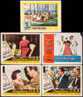 "Movie Posters:Drama, Deadline, U.S.A. & Other Lot (20th Century Fox, 1952). Fine/Very Fine. Lobby Cards (5) (11"" X 14""). Drama.. ... (Total: 5 Items)"