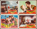"Movie Posters:Adventure, The Avengers (Republic, 1950). Title Lobby Card & Lobby Cards (3) (11"" X 14""). Adventure.. ... (Total: 4 Items)"