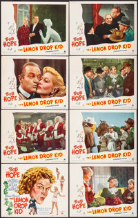 """The Lemon Drop Kid (Paramount, 1951). Lobby Card Set of 8 (11"""" X 14""""). Comedy. ... (Total: 8 Items)"""