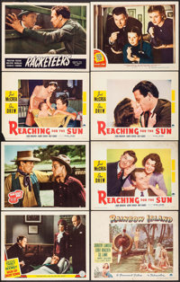 """Men of Boys Town & Others Lot (MGM, 1941). Lobby Cards (8) (11"""" X 14""""). Drama. ... (Total: 8 Items)"""