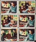 "Movie Posters:Bad Girl, Pickup (Columbia, 1951). Lobby Cards (6) (11"" X 14""). Bad Girl..... (Total: 6 Items)"