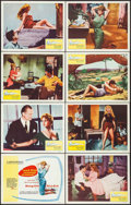 "Movie Posters:Foreign, And God Created Woman (Kingsley International, 1957). Lobby Card Set of 8 (11"" X 14""). Foreign.. ... (Total: 8 Items)"