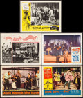 "Movie Posters:Rock and Roll, Don't Knock the Rock & Other Lot (Columbia, 1957). Overall: Very Fine. Lobby Cards (5) (11"" X 14""). Rock and Roll.. ... (Total: 5 Items)"