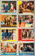 "Movie Posters:Bad Girl, Reform School Girl & Others Lot (American International, 1957).Lobby Cards (8) (11"" X 14""). Bad Girl.. ... (Total: 8 Items)"