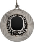 Football Collectibles:Others, 1967 Oakland Raiders AFL Championship Pendant....