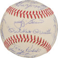 Autographs:Baseballs, 1962 New York Yankees Team Signed Baseball....