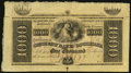Obsoletes By State:Louisiana, New Orleans, LA- Citizens' Bank of Louisiana $1,000 18__ Remainder. ...