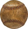 Autographs:Baseballs, 1933 New York Yankees & Chicago White Sox Teams SignedBaseball.. ...