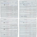 Autographs:Checks, 1980's Sam Snead Signed Personal Checks Lot of 100. . ...