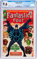 Fantastic Four #46 (Marvel, 1966) CGC NM+ 9.6 Off-white to white pages