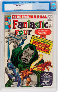 Fantastic Four Annual #2 (Marvel, 1964) CGC NM+ 9.6 Off-white pages