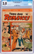 Golden Age (1938-1955):Romance, Teen-Age Romances #25 (St. John, 1952) CGC GD/VG 3.0 Off-white pages....