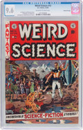 Golden Age (1938-1955):Science Fiction, Weird Science #13 Gaines File Pedigree 6/12 (EC, 1952) CGC NM+ 9.6Off-white to white pages....