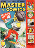 Golden Age (1938-1955):Science Fiction, Master Comics #4 (Fawcett Publications, 1940) Condition: Conserved VF....