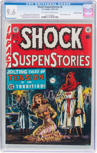 Shock SuspenStories #6 Gaines File Copy 6/12 (EC, 1952) CGC NM+ 9.6 Off-white to white pages