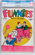 Platinum Age (1897-1937):Miscellaneous, The Funnies #1 (Dell, 1936) CGC FN- 5.5 Cream to off-whitepages....
