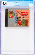 Platinum Age (1897-1937):Miscellaneous, Dick Tracy Detective #nn (Whitman, 1933) CGC NM 9.4 Off-whitepages....