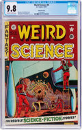 Golden Age (1938-1955):Science Fiction, Weird Science #8 Gaines File Pedigree 9/12 (EC, 1951) CGC NM/MT 9.8Off-white to white pages....