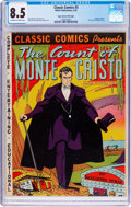 Golden Age (1938-1955):Classics Illustrated, Classic Comics #3 The Count of Monte Cristo Original Edition - Mile High Pedigree (Gilberton, 1942) CGC VF+ 8.5 Off-white to w...