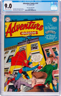 Golden Age (1938-1955):Superhero, Adventure Comics #141 Mile High Pedigree (DC, 1949) CGC VF/NM 9.0 Off-white to white pages....